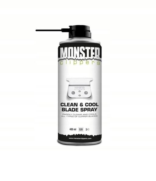 Monster Clippers Spray do dezynfekcji maszynek 400ml