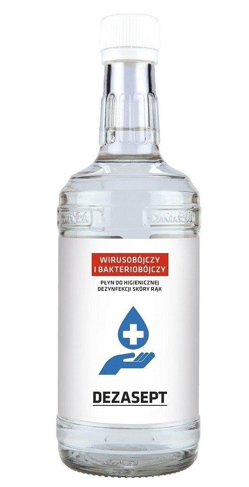 DEZASEPT 500 ml  Płyn do dezynfekcji skóry rąk