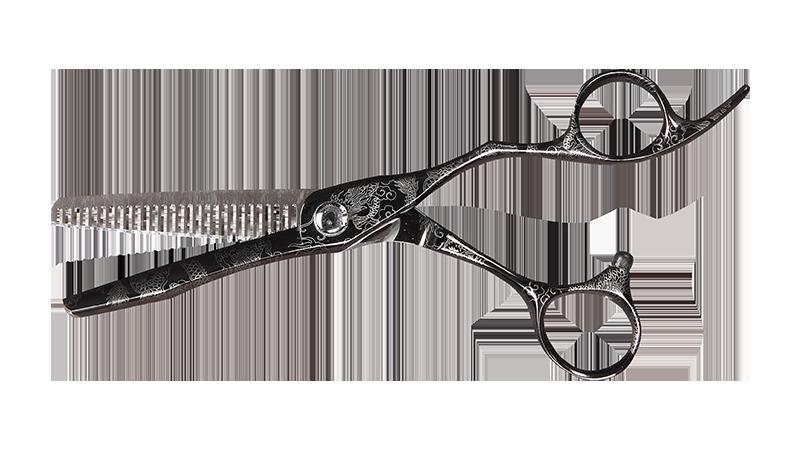 """Degażówki fryzjerskie Olivia Garden Dragon 6,28"""""""
