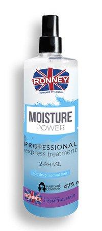 Odżywka nnawilżająca RONNEY Professional MOISTURE POWER 2-phase 475 ml
