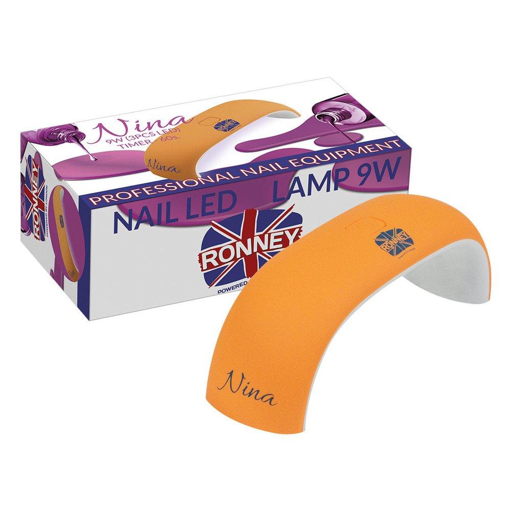 Profesjonalna lampa LED do paznokci Ronney Nina 9W