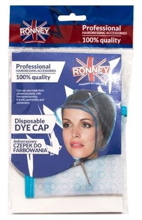 RONNEY Professional Disposable Dye Cap - Czepek do pasemek (RA 00185)